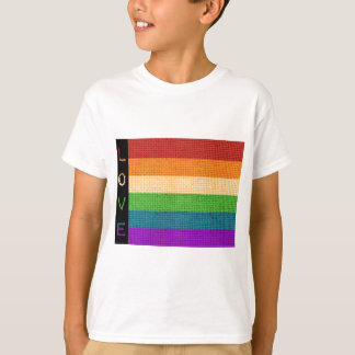 Camiseta Bandeira do amor