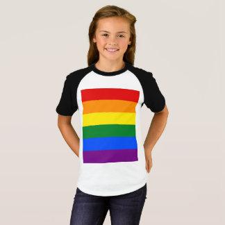 Camiseta Bandeira do arco-íris