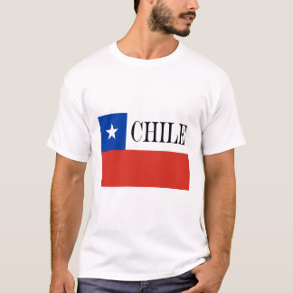 Camiseta Bandeira do Chile
