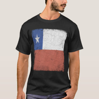 Camiseta Bandeira do Chile