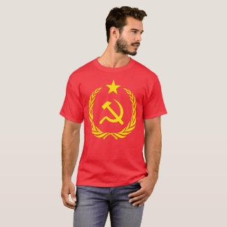 Camiseta Bandeira do comunista da guerra fria