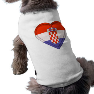 Camiseta Bandeira do Croat de Croatia