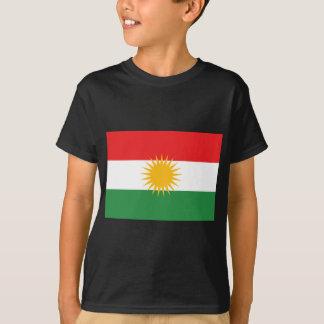 Camiseta Bandeira do Curdistão; Curdo; Curdo