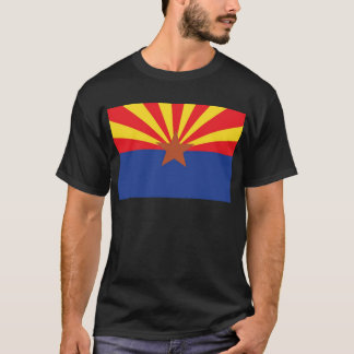 Camiseta Bandeira do estado da arizona