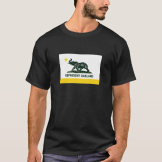 Camiseta Bandeira do estado de Oakland