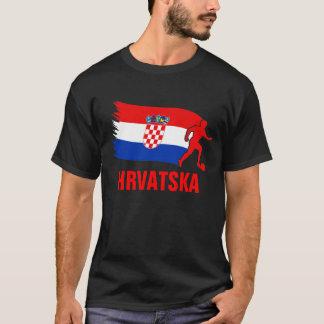 Camiseta Bandeira do futebol de Croatia