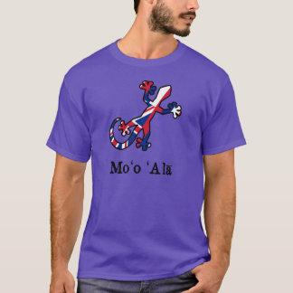 Camiseta Bandeira do geco de Havaí