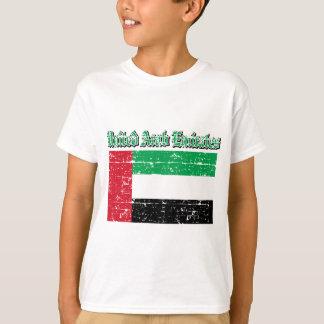 Camiseta Bandeira do Grunge de United Arab Emirates