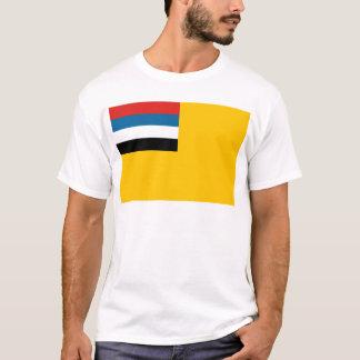Camiseta Bandeira do império do 滿洲國 de Manchukuo; 满洲国; 滿洲国