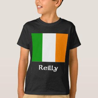 Camiseta Bandeira do irlandês de Reilly
