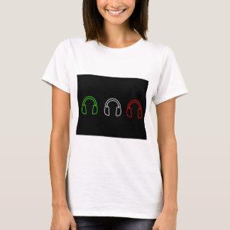 Camiseta Bandeira do italiano do DJ