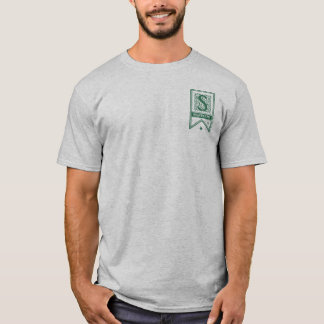 Camiseta Bandeira do monograma de Harry Potter | Slytherin