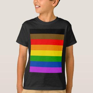 Camiseta Bandeira do orgulho de Philadelphfia