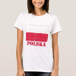 Camiseta Bandeira do Polônia