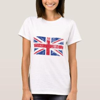 Camiseta Bandeira do Reino Unido afligido