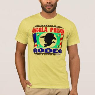 Camiseta Bandeira do rodeio da prisão de Angola