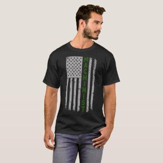 Camiseta Bandeira dos E.U. do operador