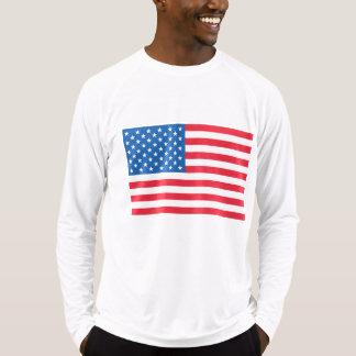Camiseta Bandeira dos Estados Unidos da bandeira dos EUA