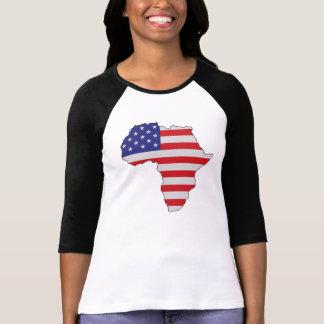 Camiseta Bandeira dos Estados Unidos de África do