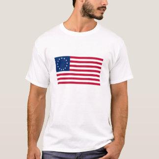 Camiseta Bandeira dos EUA Betsy Ross