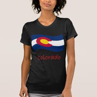 Camiseta Bandeira e nome de Colorado