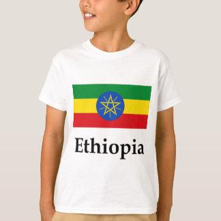 Camiseta Bandeira e nome de Etiópia