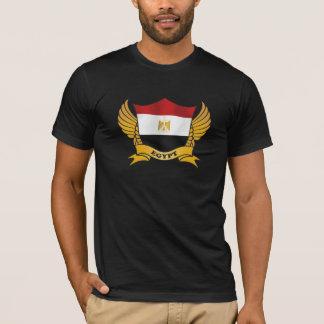 Camiseta Bandeira elegante da bandeira de Egipto
