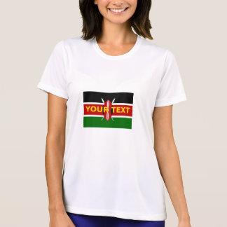 Camiseta Bandeira feita sob encomenda de Kenya
