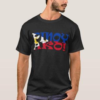 Camiseta bandeira filipino do ako pinoy