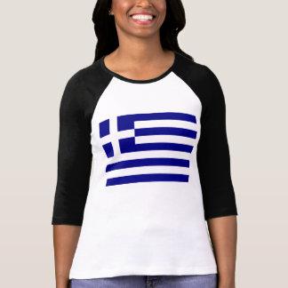 Camiseta Bandeira grega