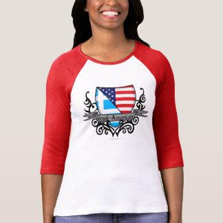 Camiseta Bandeira Grego-Americana do protetor