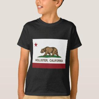 Camiseta bandeira Hollister de Califórnia