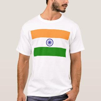 "Camiseta Bandeira indiana ""Tiranga "" da boa cor"