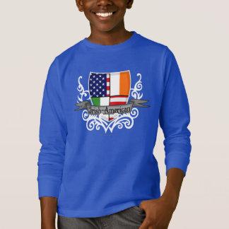Camiseta Bandeira Irlandês-Americana do protetor