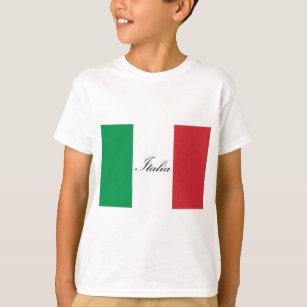 Camiseta Bandeira italiana - bandeira de Italia - Italia b83a9d9adc5e4