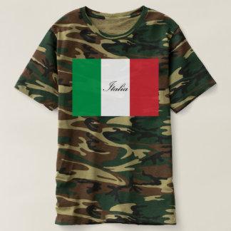 Camiseta Bandeira italiana - bandeira de Italia - Italia