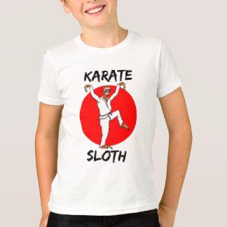 Camiseta Bandeira japonesa com preguiça do karaté