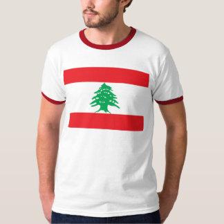 Camiseta Bandeira libanesa - bandeira do علملبنان de Líbano