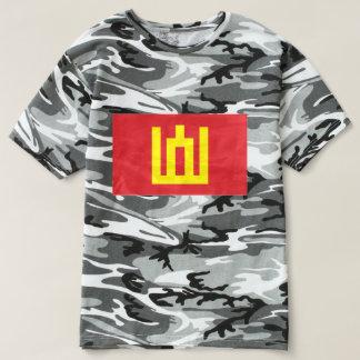 Camiseta Bandeira lituana do exército - bandeira do