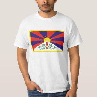 Camiseta Bandeira livre de Tibet - ་ do བཙན do ་ do རང do ་