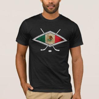 Camiseta Bandeira mexicana do hóquei em gelo