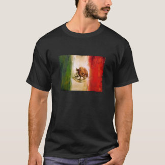 Camiseta Bandeira mexicana do vintage