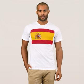 Camiseta Bandeira nacional da espanha