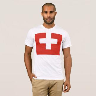 Camiseta Bandeira nacional da suiça