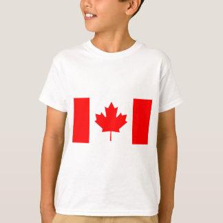 Camiseta Bandeira nacional de Canadá - Drapeau du Canadá