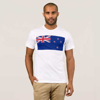 Camiseta Bandeira nacional de Nova Zelândia