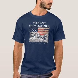 Camiseta Bandeira nacional do Monte Rushmore Memorial Park