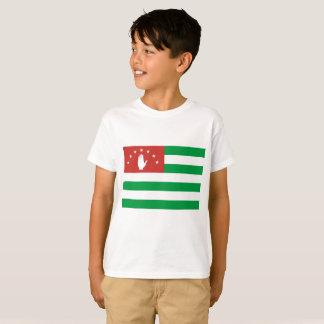 Camiseta Bandeira nacional do mundo da Abkhásia