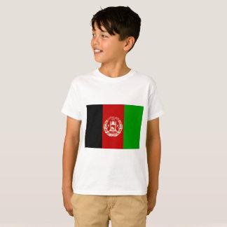 Camiseta Bandeira nacional do mundo de Afeganistão
