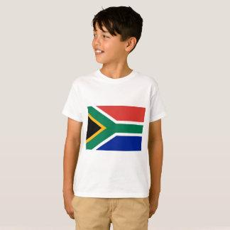 Camiseta Bandeira nacional do mundo de África do Sul